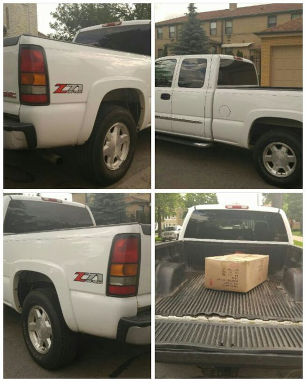One Owner 2005 GMC Sierra 4x4 Z71 With 92k Miles No Rust