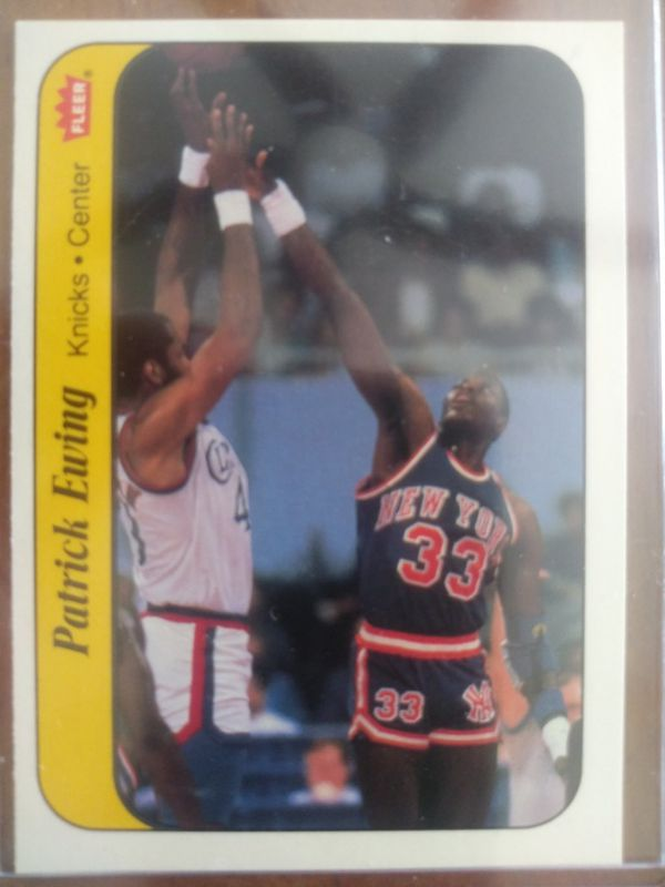 1986 fleer larry bird patrick ewing stickers collectibles in fall river ma