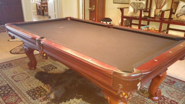 Thomas Aaron Pool Table Sports Outdoors In Palm City FL - Thomas aaron pool table