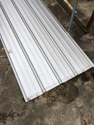 (7) 20 x 3 metal roofing panels