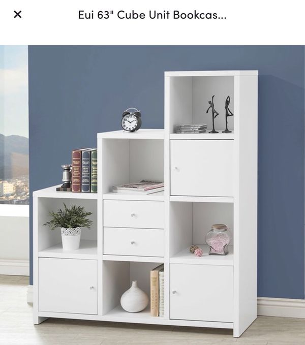 "Eui 63"" Cube Unit Bookcase"