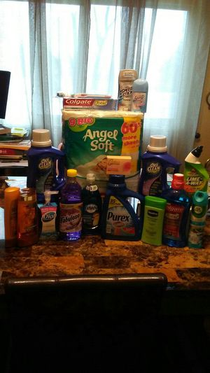 Cleaning Bundled Household Items