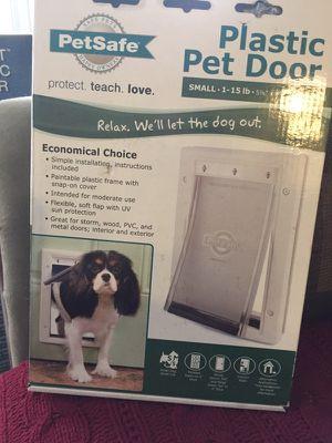 Brand new Plastic Pet Door