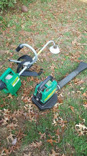 Weed eater and blower