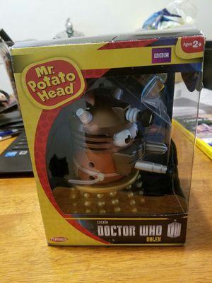New in box doctor who mr potato head