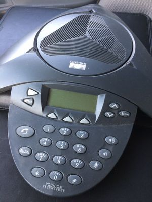 Cisco Systems Polycom Conference Room Phone Home or Office