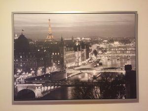 Paris photograph 5ft X 3ft