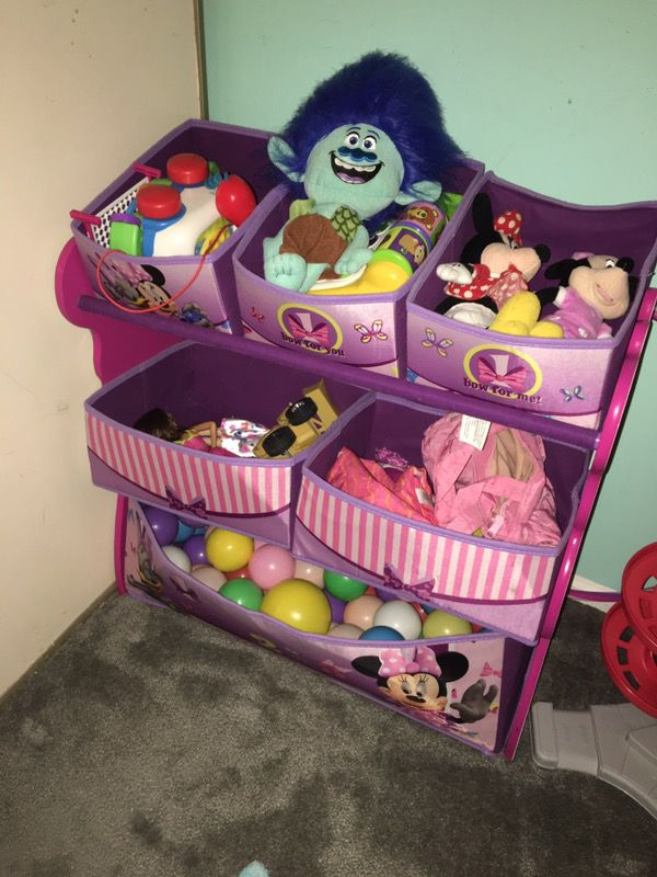 Minnie Mouse toy storage