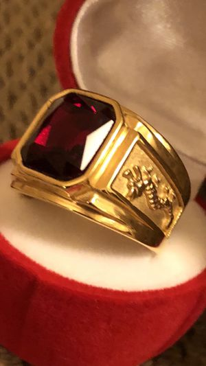 Brand New Gold plated ring