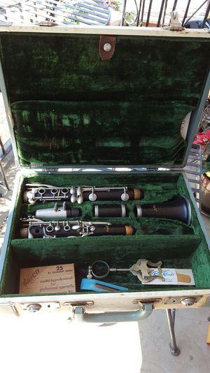 Vintage 1960's Artley Prelude clarinet 18s