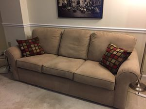 Microfiber 3-seat couch