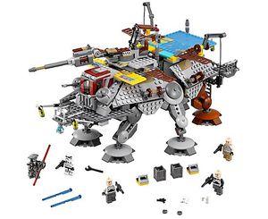 NEW LEGO Star Wars Captain Rex's AT-TE 75157 972 pcs Legos Rebels Disney Set