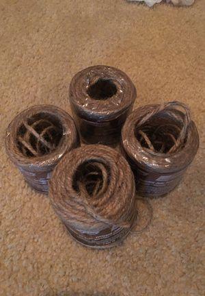 4 spools of jute twine