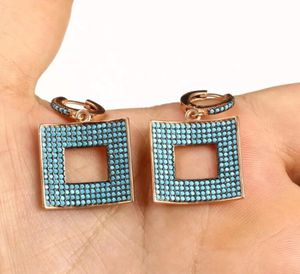 925 Sterling Silver, Handmade Turkish Turquoise, Earrings