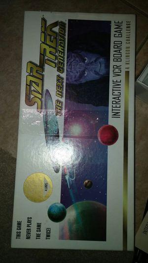 1993 Star Trek Klingon Challenge interactive board game