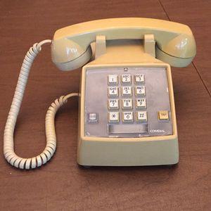 Retro Push Button Phone