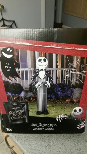 Jack Skellington inflatable Halloween decoration!