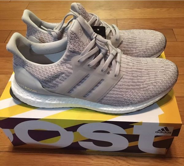 Brand New adidas Ultra Boost 3.0 Gray Leather Cage (Size UK 9)