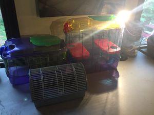 Hamster Full Setup Cage, Toys, Tubes