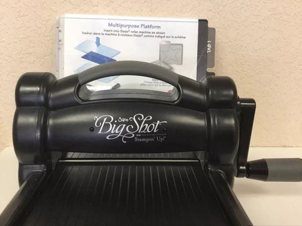Sizzix Big Shot for Stamping Up Machine