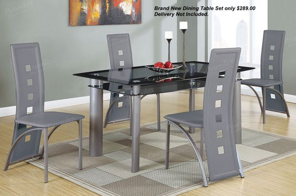 Brand New Dining Table Set Only 28900 Delivery Not Included