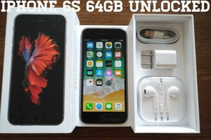 Iphone 6S 64GB UNLOCKED (Like New) Space Gray