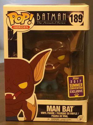 SDCC 2017 Exclusive Pop! Heroes: Batman the Animated Series Man Bat (rare exclusive)