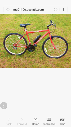 Collectible items 26 inch 18 speed Coca-Cola mountain bike