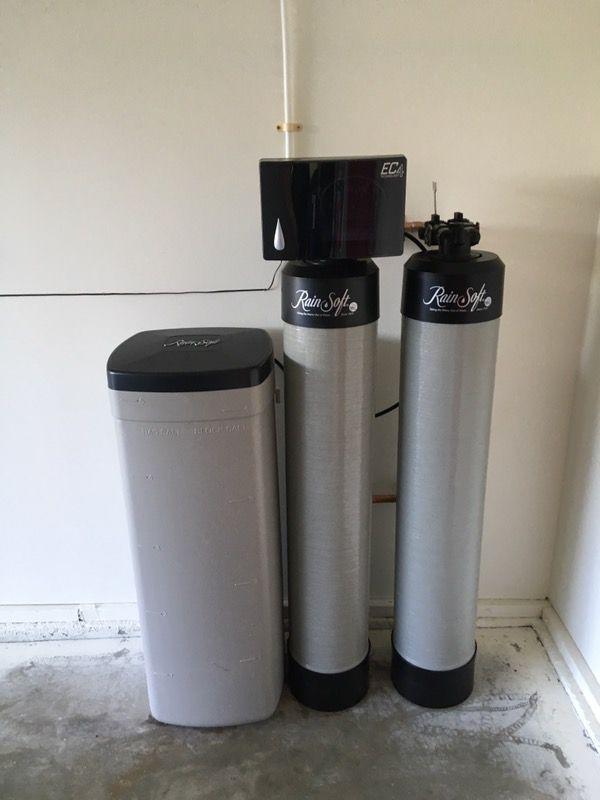 Rain soft water softener ec4 and qrs home garden in adelanto ca for Water softener for 4 bedroom house