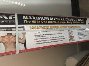 Maximun Muscle Chin Up Bar