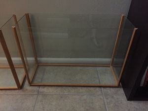 Collector glass cases