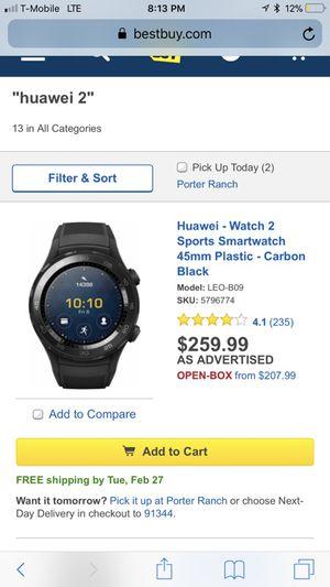huawei 2 smart watch 200 obo