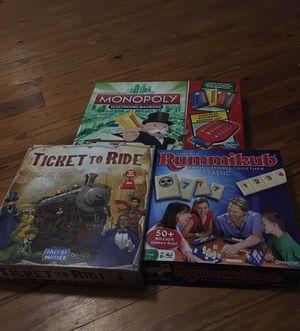 Family board games - 3 classics