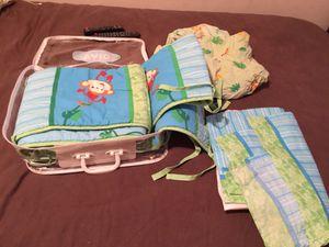 Crib bumber , skirt, n sheet