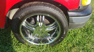 22s FOR F150 OR EXPEDITION W/ NEW TIRES