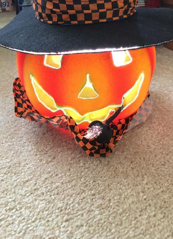 Fiber Optic Halloween Pumpkin Decoration General in Bellevue WA