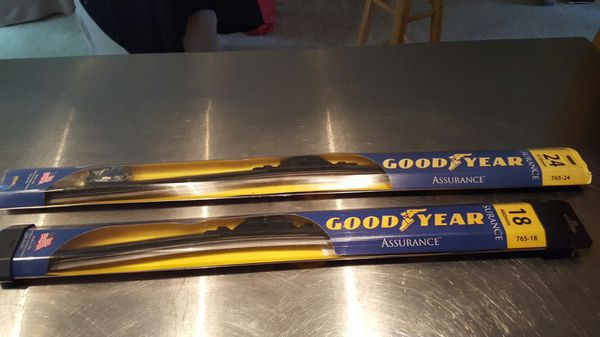 New Wiper Blades 18 Quot Amp 24 Quot 765 Gy Auto Parts In