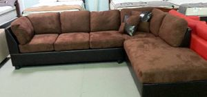 Brand new brown sectional
