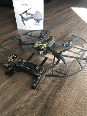 DJI Mavic Pro with Extra battery and Propeller Bumpers