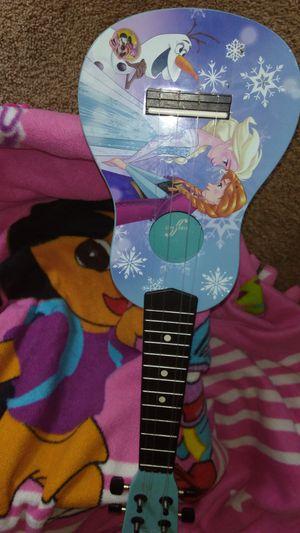 Guitarra Ana y Elsa.