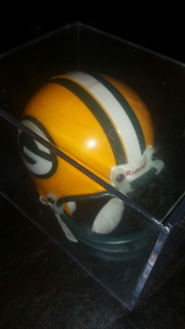 Toys For Trucks Green Bay : Green bay packers mini helmet with collector protector