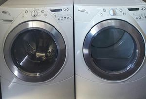 WHIRPOOL DUET WASHER AND DRYER FRON LOAD