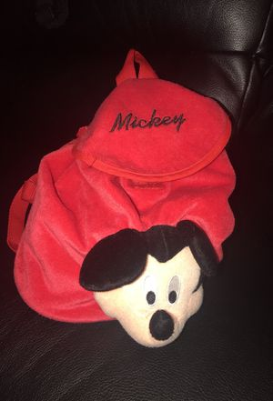 Mickey mouse baby bag