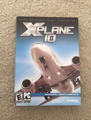 X-Plane 10 Regional: North America.