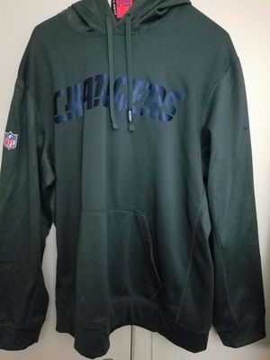 XL Nike Chargers sweater.