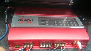 Sony car amp 4 channel