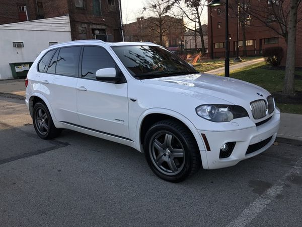 BMW X M SPORT PACKAGE ALPINE WHITE K MILES Cars - 2011 bmw x5 sport package