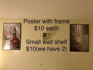 Posters and frames
