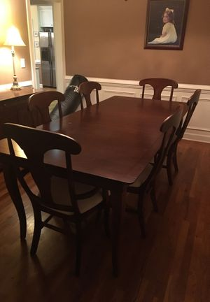 Formal Dining Room Table And Buffet