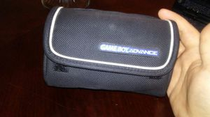 Gameboy Advance Black Carrying Case